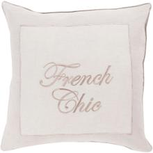 """View Product - French Chic FRC-002 18""""H x 18""""W"""
