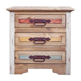 Natural Top Cancun Nightstand