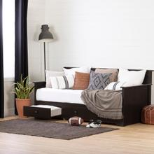 Summer Breeze - Daybed with Storage, Chocolate, Twin