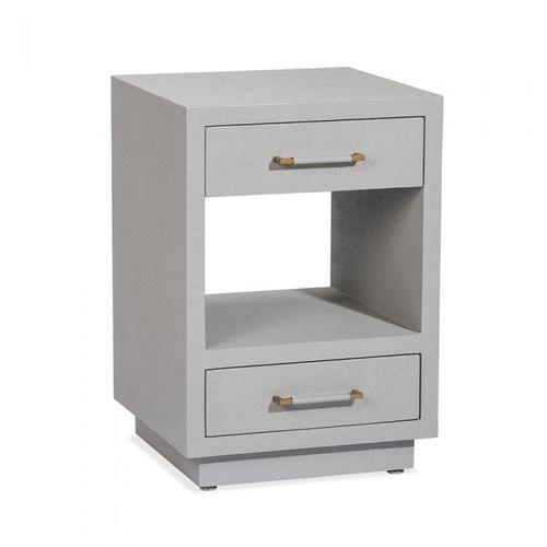 Taylor Small Bedside Chest - Grey