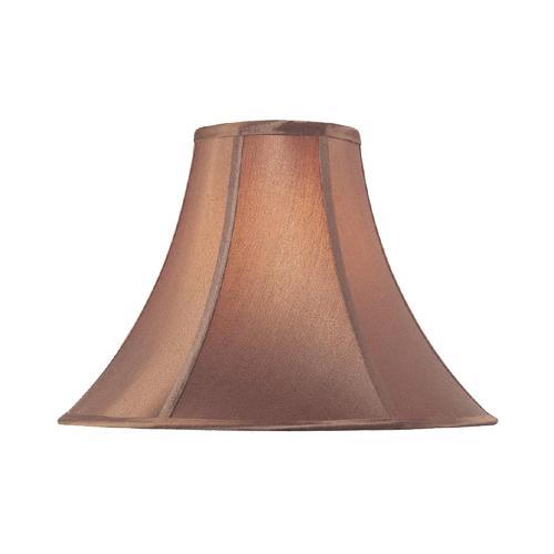 "Burgundy Bell Shade - 6""tx16""bx12""sl"