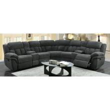7PC Sectional w/Recliners