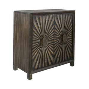 2 Door Wine Accent Cabinet