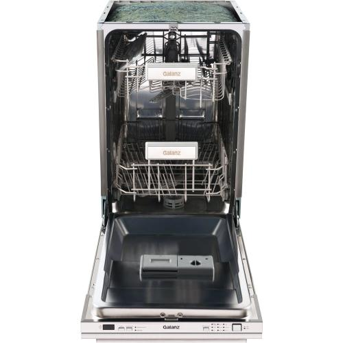"""Galanz 18"""" Built In Dishwasher in Stainless Steel"""