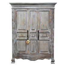 View Product - 2 Door Old Grey Armoire