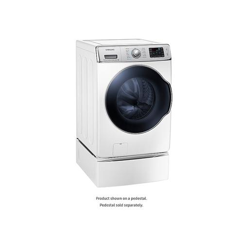 Samsung - WF9110 5.6 cu. ft. Front Load Washer with SuperSpeed