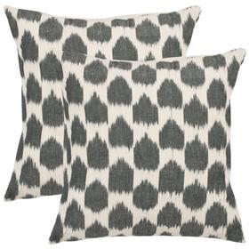 Polka Dots Pillow - Charcoal