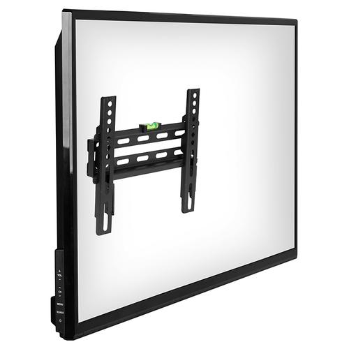 """FLASH MOUNT Fixed TV Wall Mount with Built-In Level - Magnetic Quick Release Pendants - Fits most TV's 17"""" - 42"""" (Weight Capacity 66LB)"""