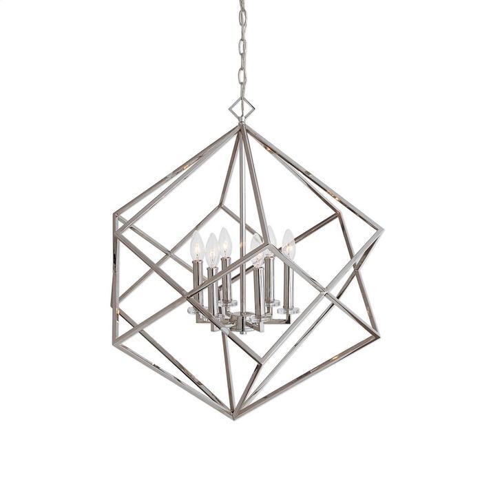 Uttermost - Euclid, 6 Lt Pendant