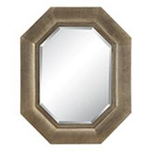 Maselle Wall Mirror In Silver Finish
