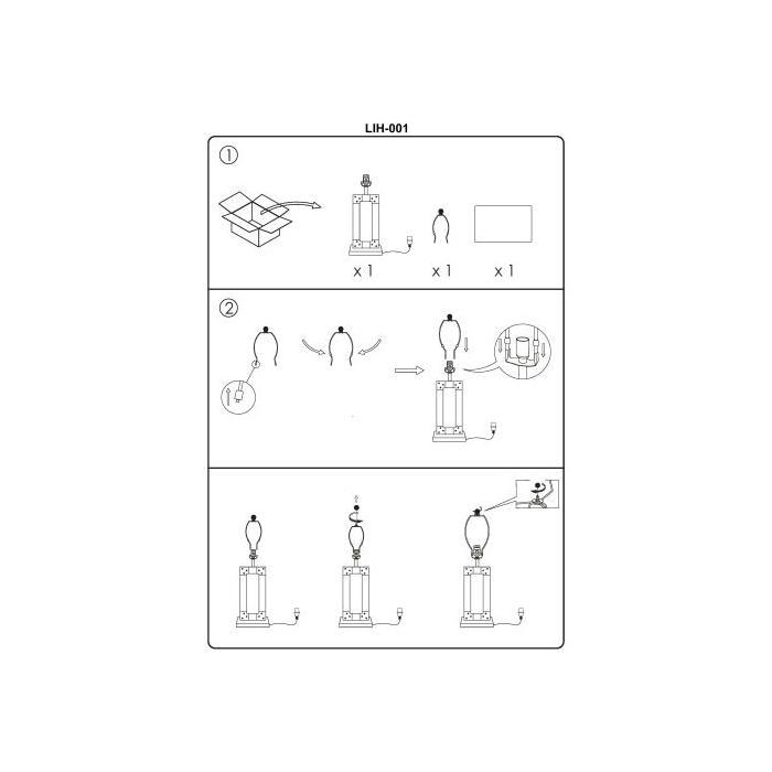 """Product Image - Lilah LIH-001 26""""H x 14""""W x 7""""D"""