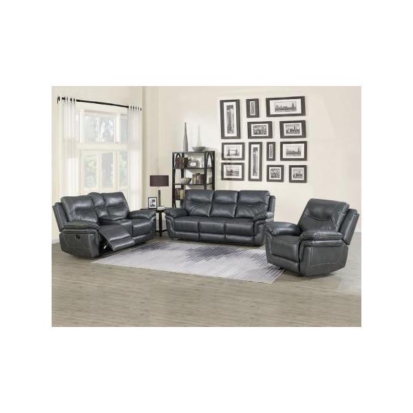 Isabella Grey 3 Piece Motion Set (Sofa, Loveseat & Chair)
