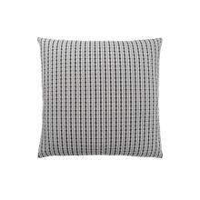 "PILLOW - 18""X 18"" / LIGHT GREY / BLACK ABSTRACT DOT / 1PC"