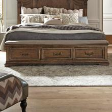 View Product - Queen Bench Storage Footboard