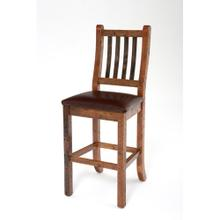 See Details - Heritage Bar Stool With Leather Seat