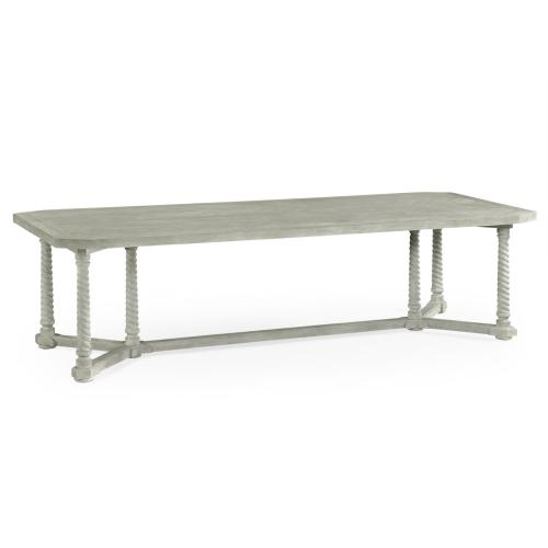 """112"""" Broby Cloudy Oak Dining Table"""