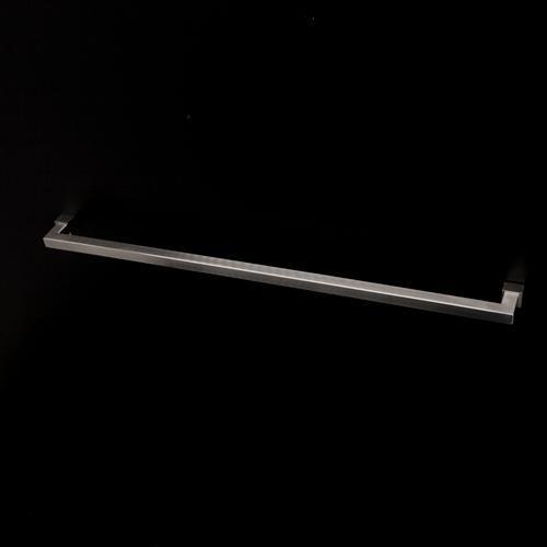 "Wall-mount 24 1/2""W towel bar made of stainless steel."