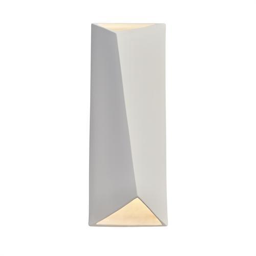 ADA Diagonal Rectangle LED Wall Sconce (Open Top & Bottom)