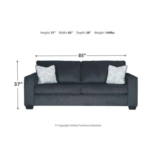 Altari Queen Sofa Sleeper Slate