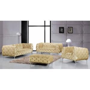 """Mercer Velvet Sofa - 91"""" W x 35"""" D x 28.5"""" H"""