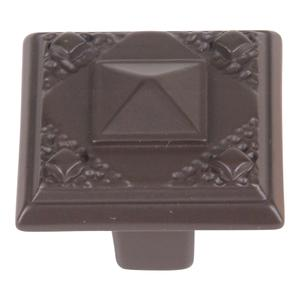 Craftsman Knob 1 1/4 Inch - Aged Bronze Product Image