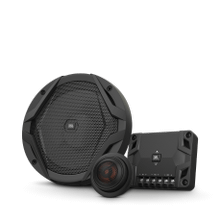GX600C 16.5 cm 2-way component set with separate soft dome tweeter and filter
