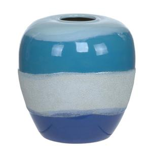 Wave II Glazed Coastal Table Lamp Product Image