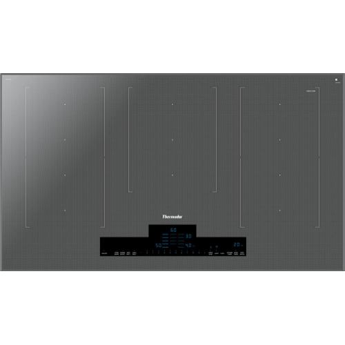 Thermador - Liberty® Induction Cooktop 36'' Silver Mirror CIT367XM