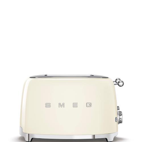4x4 Slice Toaster, Cream