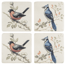 Bird on Branch Coaster (4 pc. set)