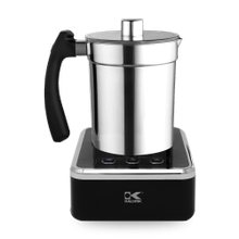 Product Image - Kalorik Milk Frother, Black and Stainless Steel