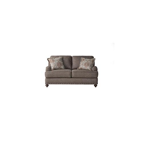 Hughes Furniture - HUGHES 17200LS Phineas Driftwood Loveseat