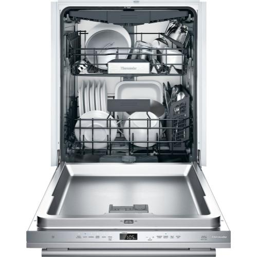 Thermador - Dishwasher 24'' Stainless Steel DWHD650WFM