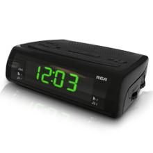 Dual wake AM/FM clock radio