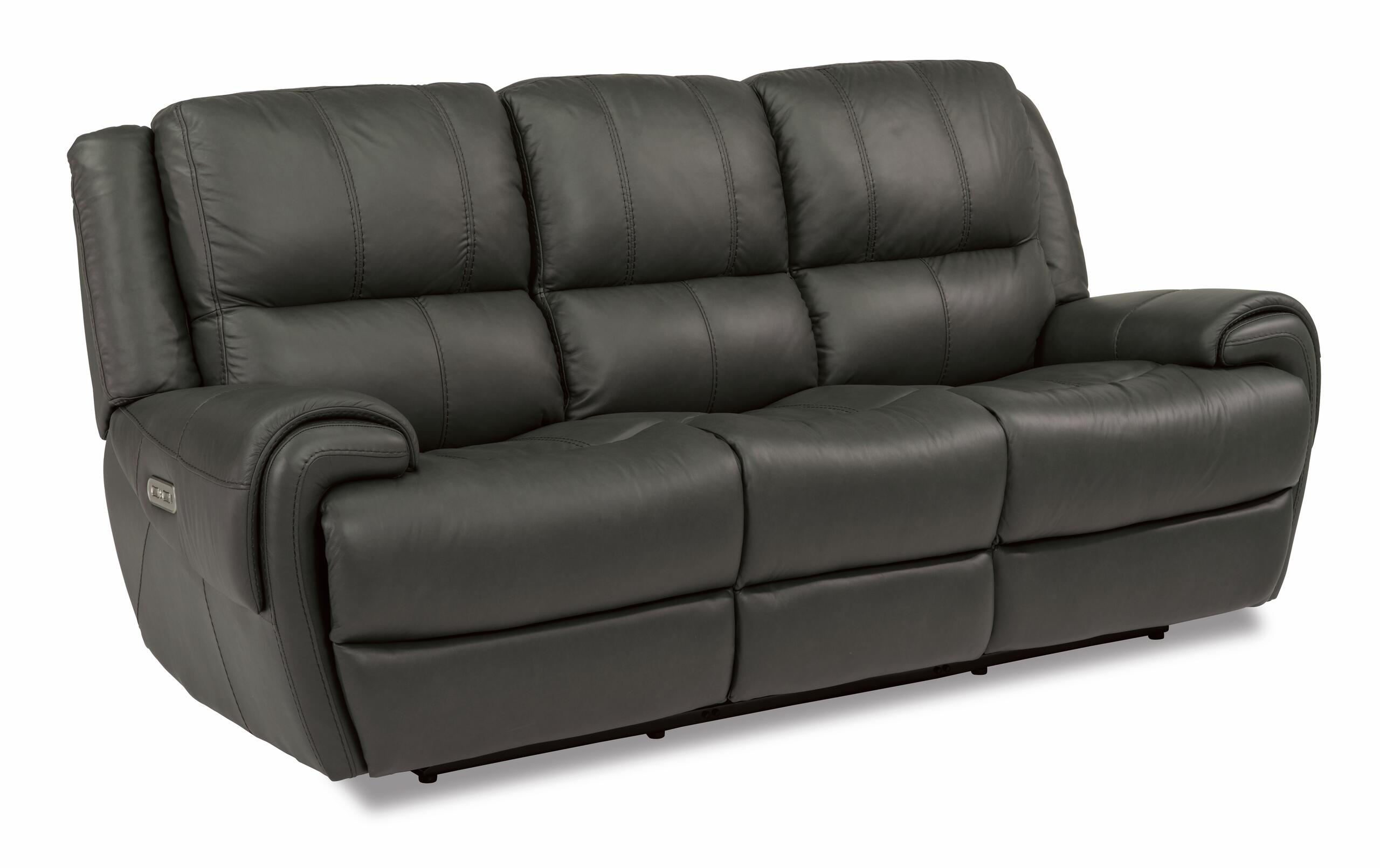 FlexsteelNance Power Reclining Sofa With Power Headrests