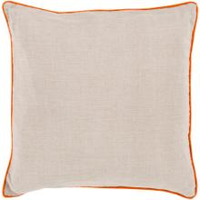 """View Product - Linen Piped LP-001 18""""H x 18""""W"""