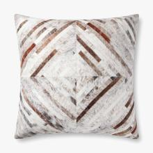 P0900 Poly Only Grey / Multi Pillow