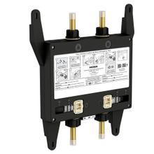 U by Moen Shower 2-outlet thermostatic digital shower valve