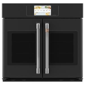 "CafeProfessional Series 30"" Smart Built-In Convection French-Door Single Wall Oven"