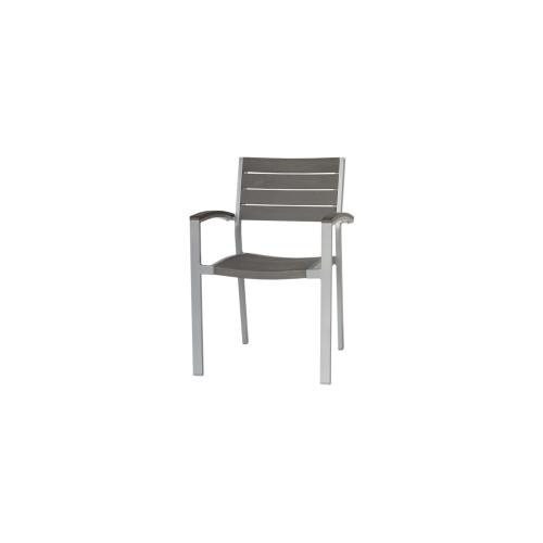 New Mirage Stacking Arm Chair