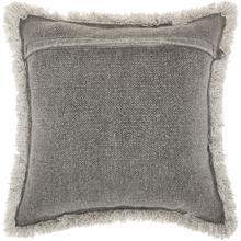 """Life Styles E0450 Grey 20"""" X 20"""" Throw Pillow"""