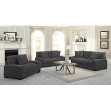 Big Chill Charcoal Sofa, Loveseat, 1.5 Chair & Swivel Chair, U2249