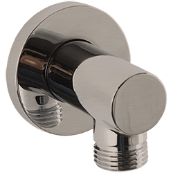 RND Shower Outlet Elbow Brushed Nickel Product Image