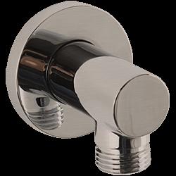 RND Shower Outlet Elbow Brushed Nickel Product Image