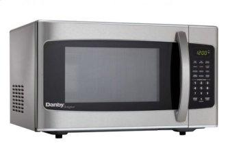 Danby Designer 1.1 cu. ft. Stainless Steel Microwave with Convenience Cooking Controls