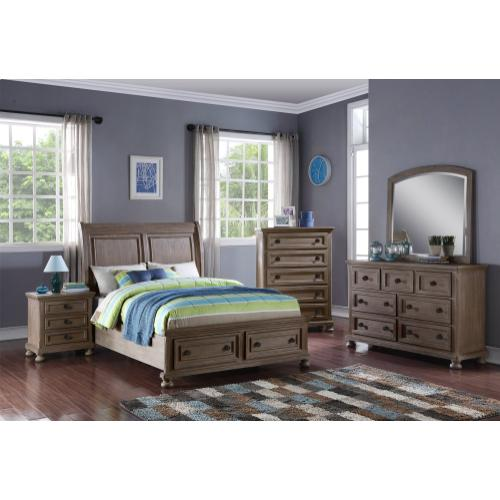 ALLEGRA 4/6 F Storage Footboard & Slats