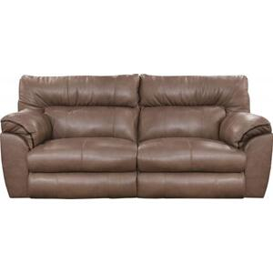 Power Lay Flat Reclining Console Loveseat