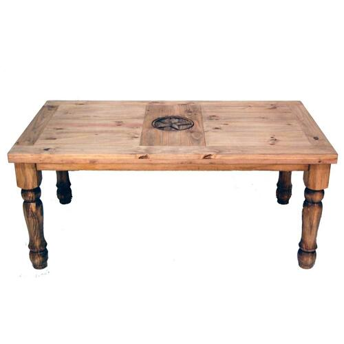 7' Table W/star On Top