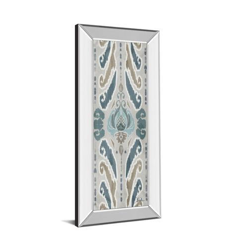 "Classy Art - ""A Touch Of Flourish I"" By Patricia Pinto Mirror Framed Print Wall Art"