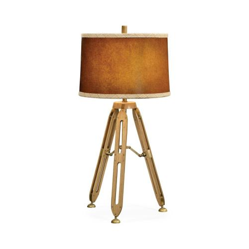 "Architectural table lamp (32"" H)"